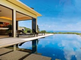 3 bedroom villa overlooking Nai Thon Beach