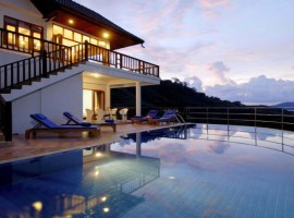 A 5 bedroom luxury villa in Patong with private pool and sea views