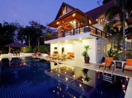 7 bedroom luxury villa in Patong with infinity pool and sea views