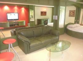 Cozy Studio in Condominium with swimming pool and gym