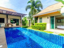 3 bedroom beautiful villa in a Nai Harn gated estate