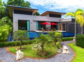 A four bedroom spacious villa in Nai Harn Beach gated estate
